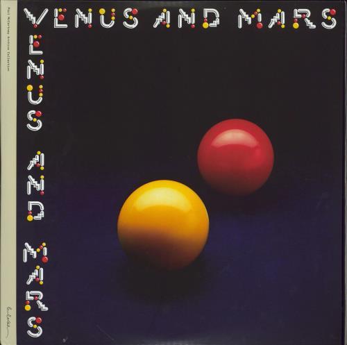 Paul McCartney and Wings Venus And Mars - 180g 2-LP vinyl record set (Double Album) UK MCC2LVE777020