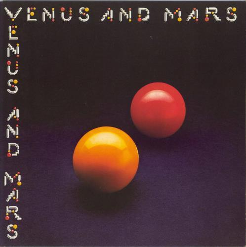 Paul McCartney and Wings Venus And Mars - 1U/1U Matrices - Complete vinyl LP album (LP record) UK MCCLPVE772443