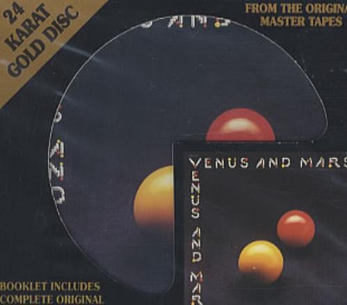Paul McCartney and Wings Venus And Mars US CD album (CDLP