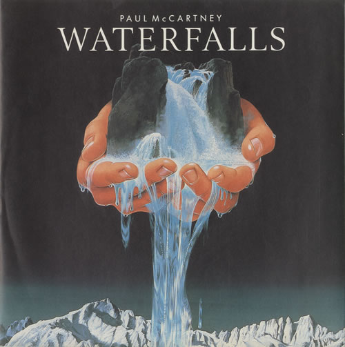 "Paul McCartney and Wings Waterfalls - Picture sleeve 7"" vinyl single (7 inch record) UK MCC07WA46772"