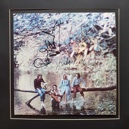 Paul McCartney and Wings Wild Life - Autographed vinyl LP album (LP record) US MCCLPWI712677