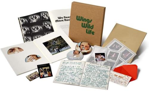 Paul McCartney and Wings Wild Life - Deluxe Edition - Sealed box set UK MCCBXWI752070