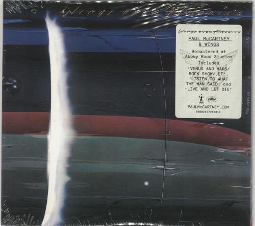 Paul McCartney and Wings Wings Across America - Sealed 2 CD album set (Double CD) UK MCC2CWI725446
