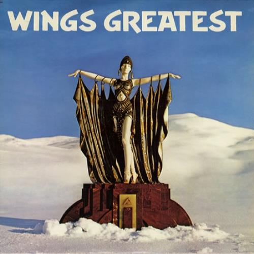 Paul McCartney and Wings Wings Greatest + Poster vinyl LP album (LP record) Italian MCCLPWI485390