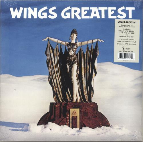 Paul McCartney and Wings Wings Greatest -180gram Vinyl - Sealed vinyl LP album (LP record) UK MCCLPWI696736