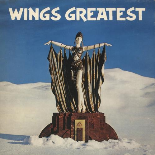 Paul McCartney and Wings Wings Greatest vinyl LP album (LP record) UK MCCLPWI253299