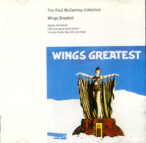 Paul McCartney and Wings Wings Greatest CD album (CDLP) UK MCCCDWI588635