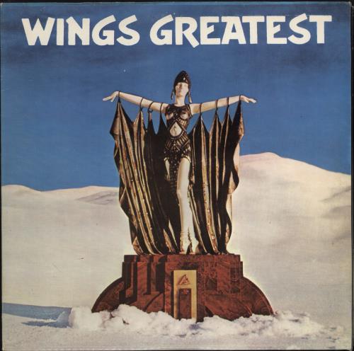 Paul McCartney and Wings Wings Greatest vinyl LP album (LP record) Portugese MCCLPWI769154