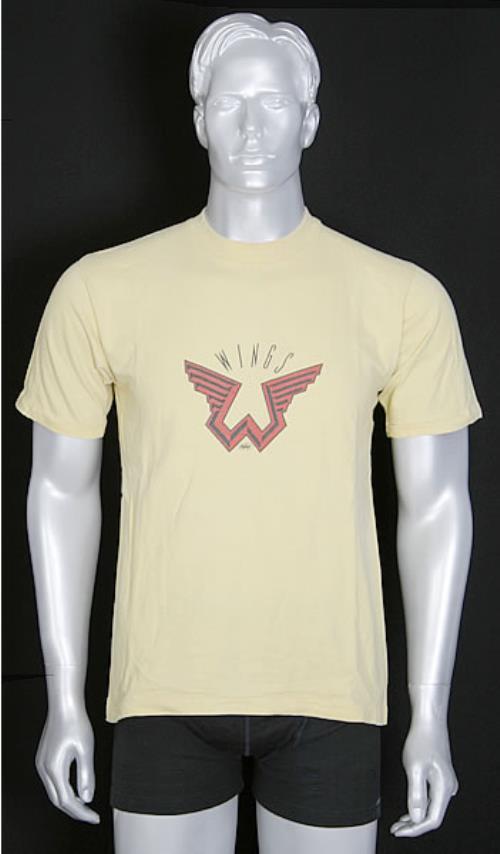 Paul McCartney And Wings Logo T Shirt US MCCTSWI455449