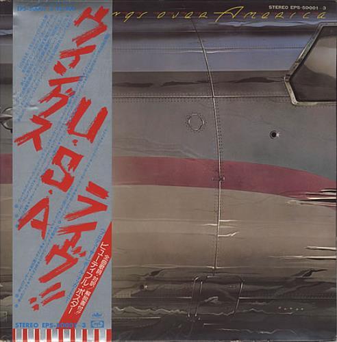 Paul McCartney and Wings Wings Over America + Promo Booklet 3-LP vinyl record set (Triple Album) Japanese MCC3LWI234954