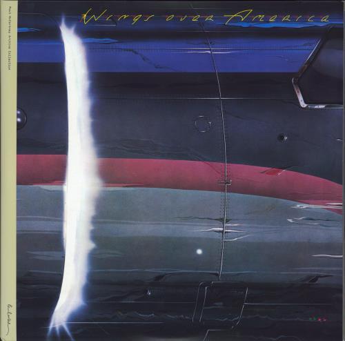 Paul McCartney and Wings Wings Over America - 180g Vinyl 3-LP vinyl record set (Triple Album) UK MCC3LWI777019