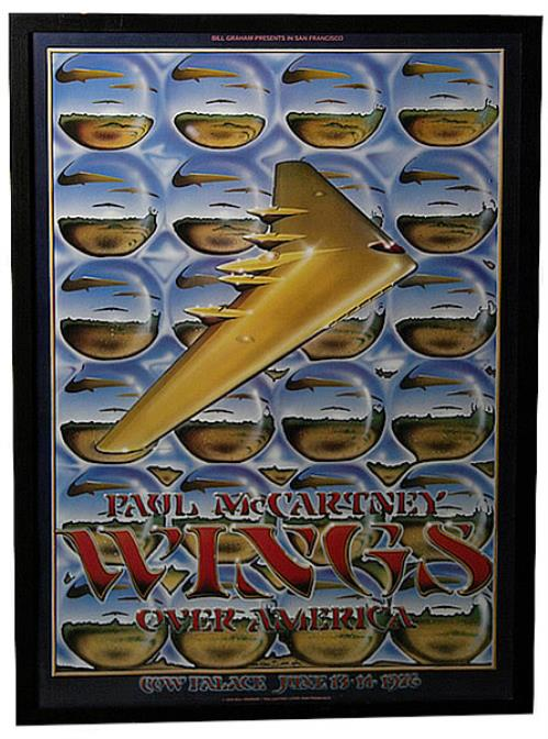Paul McCartney and Wings Wings Over America - Cow Palace US