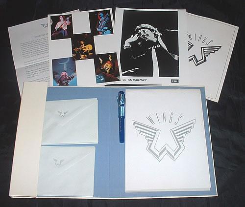 Paul McCartney and Wings Wings Over America Deluxe Press Pack media press pack UK MCCPPWI488013