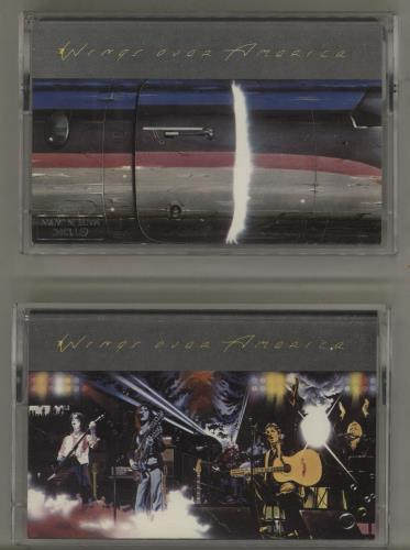 Paul McCartney and Wings Wings Over America cassette album UK MCCCLWI759011