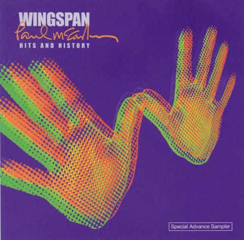 Paul McCartney and Wings Wingspan Hits And History - Special Advance Sampler CD album (CDLP) US MCCCDWI184228