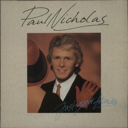 Paul Nicholas Just Good Friends vinyl LP album (LP record) UK PN2LPJU656034