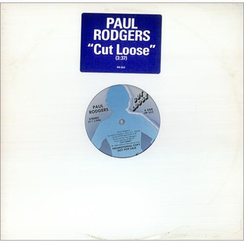 "Paul Rodgers Cut Loose 12"" vinyl single (12 inch record / Maxi-single) US RGR12CU107503"