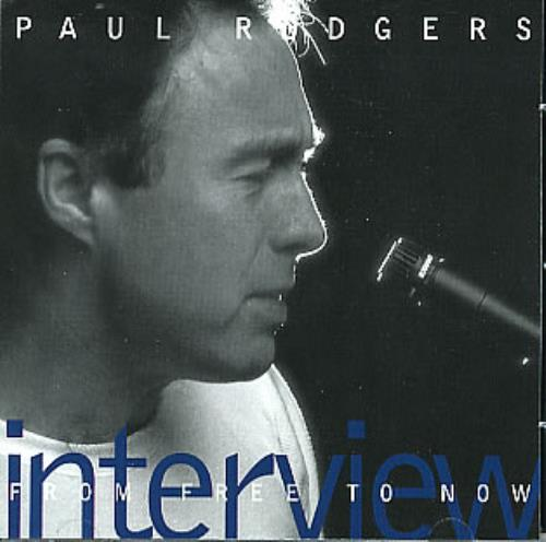 Paul Rodgers From Free Now Interview CD album (CDLP) US RGRCDFR100625