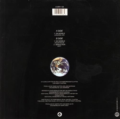 "Paul Rutherford Oh World 12"" vinyl single (12 inch record / Maxi-single) UK RUT12OH161585"