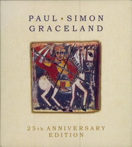 Paul Simon Graceland - 25th Anniversary Edition - EX 2-disc CD/DVD set US PSI2DGR682805