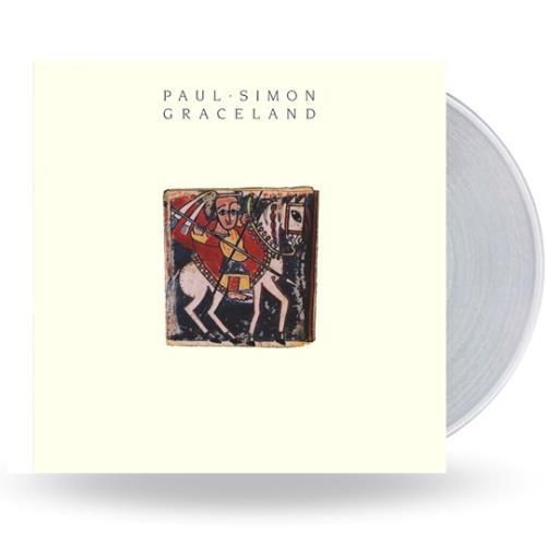 Paul Simon Graceland - NAD 2020 - Clear Vinyl vinyl LP album (LP record) UK PSILPGR753826