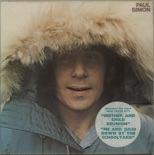 Paul Simon Paul Simon - Hype sticker vinyl LP album (LP record) UK PSILPPA653384