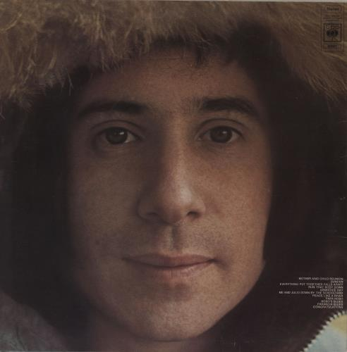 Paul Simon Paul Simon - Square Hype sticker vinyl LP album (LP record) UK PSILPPA761459