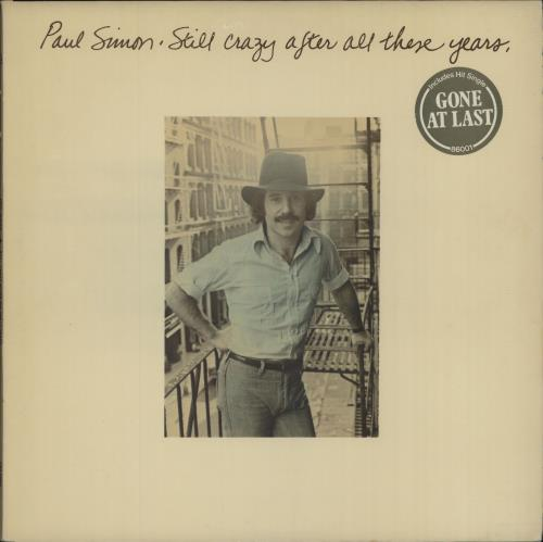 Paul Simon Still Crazy After All These Years - Gone At Last stickered picture sleeve vinyl LP album (LP record) UK PSILPST680843