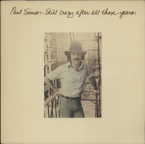 Paul Simon Still Crazy After All These Years vinyl LP album (LP record) UK PSILPST330510