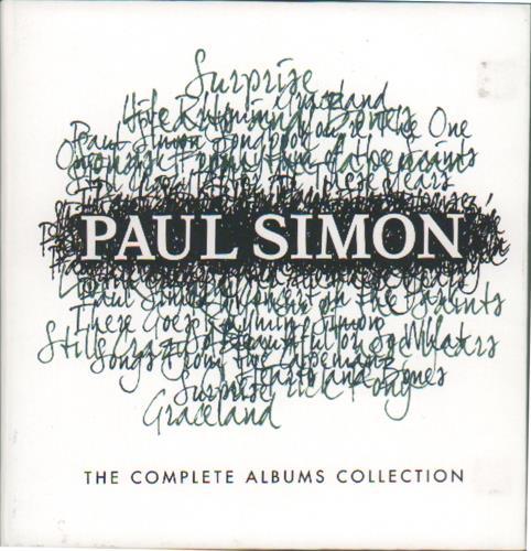 Paul Simon The Complete Albums Collection CD Album Box Set UK PSIDXTH675817