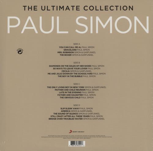 Paul Simon The Ultimate Collection - 180gram Vinyl + Sealed 2-LP vinyl record set (Double Album) UK PSI2LTH758783
