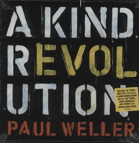 """Paul Weller A Kind Revolution - 10"""" Boxset - Sealed Vinyl Box Set UK WELVXAK679064"""