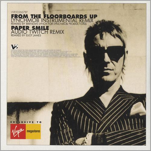 "Paul Weller As Is Now - 2 x Remix CD single (CD5 / 5"") UK WELC5AS459496"