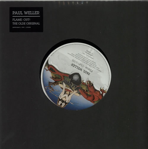 """Paul Weller Flame-Out! - RSD13 - Sealed 7"""" vinyl single (7 inch record) UK WEL07FL583257"""