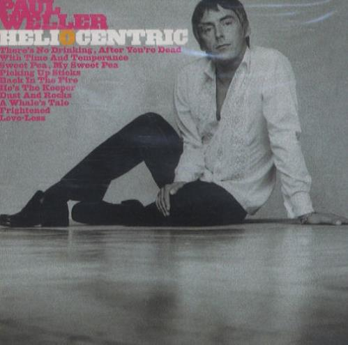 Paul Weller Heliocentric CD album (CDLP) UK WELCDHE270864