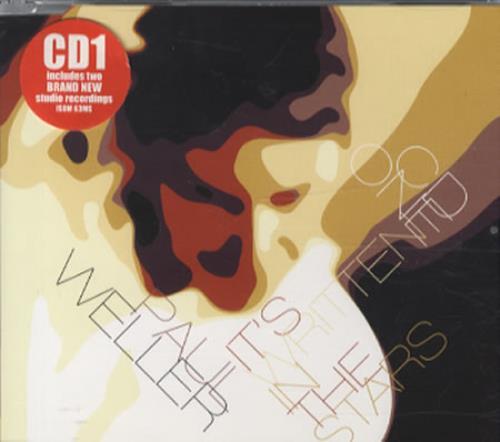 """Paul Weller It's Written In The Stars - CD1 CD single (CD5 / 5"""") UK WELC5IT344787"""