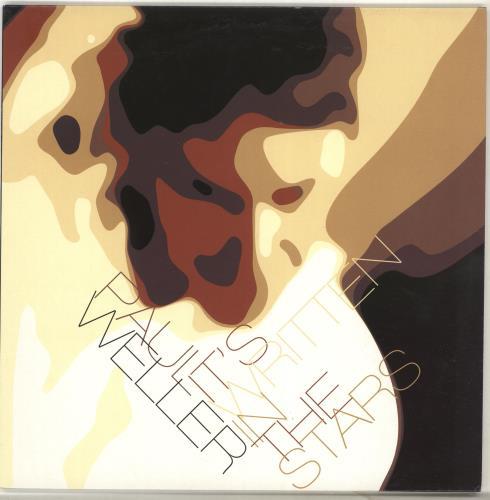 """Paul Weller It's Written In The Stars 10"""" vinyl single (10"""" record) UK WEL10IT223104"""