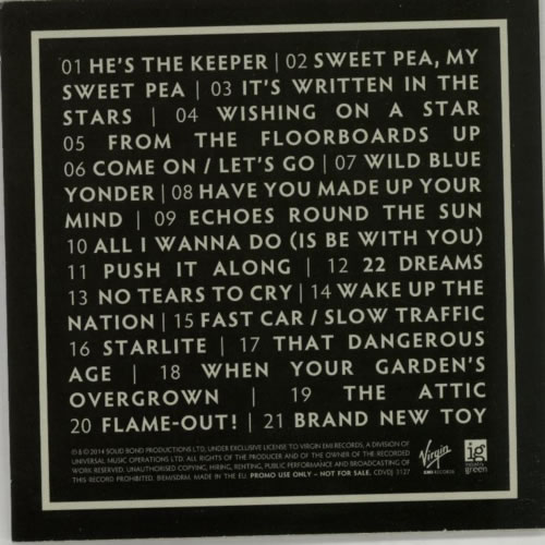 Paul Weller More Modern Classics - CD1 CD-R acetate UK WELCRMO614899