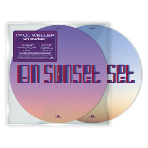 Paul Weller On Sunset - Picture Disc picture disc LP (vinyl picture disc album) UK WELPDON748170