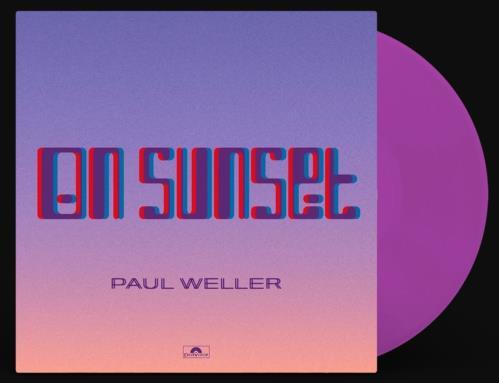 Paul Weller On Sunset - Purple Vinyl 2-LP vinyl record set (Double Album) UK WEL2LON748169