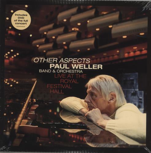 Paul Weller Other Aspects: Live At The Royal Festival Hall + DVD - Sealed 3-LP vinyl record set (Triple Album) UK WEL3LOT715871
