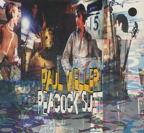 "Paul Weller Peacock Suit CD single (CD5 / 5"") UK WELC5PE71185"