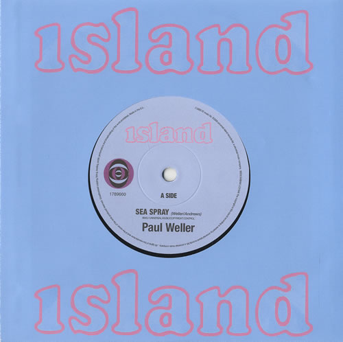 "Paul Weller Sea Spray / 22 Dreams 7"" vinyl single (7 inch record) UK WEL07SE451863"