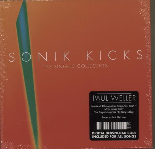 "Paul Weller Sonik Kicks: The Singles Collection - Sealed 7"" box set US WEL7XSO679165"