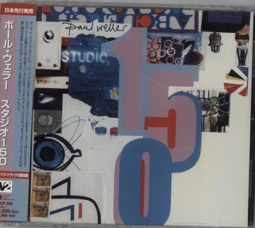 Paul Weller Studio 150 CD album (CDLP) Japanese WELCDST315366