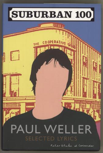 Paul Weller Suburban 100 - Selected Lyrics book UK WELBKSU726916