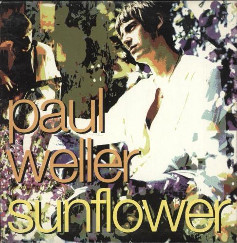 "Paul Weller Sunflower CD single (CD5 / 5"") US WELC5SU410108"
