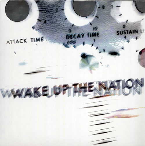 Paul Weller Wake Up The Nation - Numbered CD-R acetate UK WELCRWA571662
