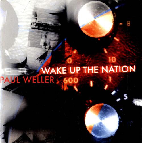"Paul Weller Wake Up the Nation CD single (CD5 / 5"") UK WELC5WA615273"
