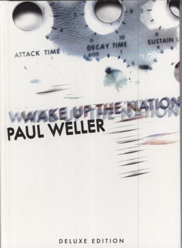 Paul Weller Wake Up The Nation 2 CD album set (Double CD) UK WEL2CWA773830